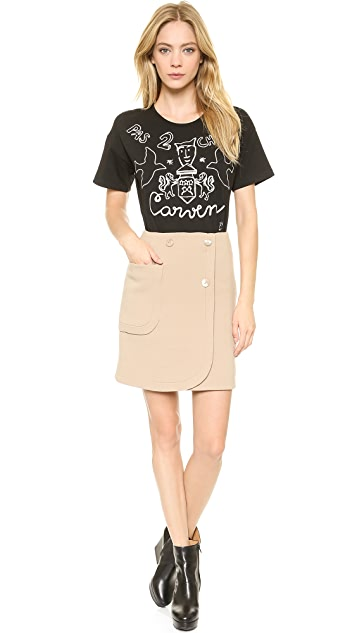 Carven Embroidered T-Shirt