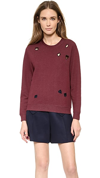Carven Long Sleeve Sweatshirt