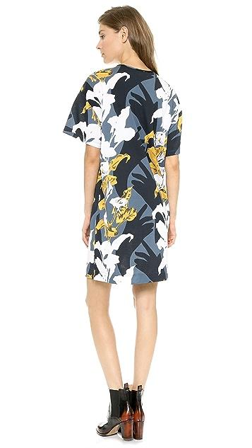 Carven Short Sleeve T-Shirt Dress