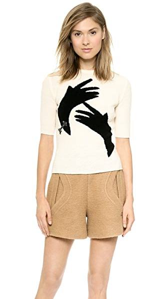 Carven Hands Sweater