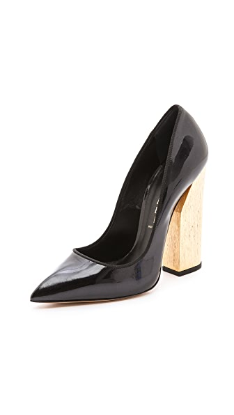 Casadei Wooden Heel Pumps