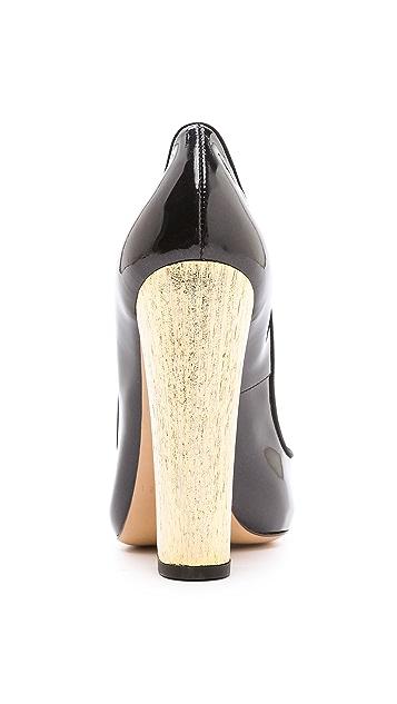 Casadei Wooden Heel Pumps