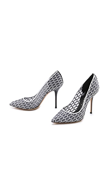 Casadei Honeycomb Detailed Pumps