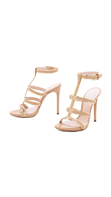 Casadei Gladiator Stiletto Sandals