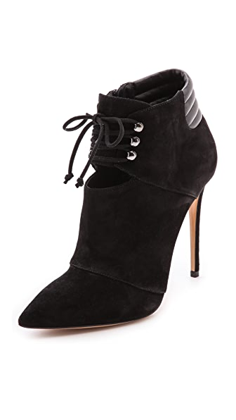 Casadei Lace Up Booties
