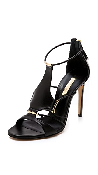 Casadei Corded Sandals with Hardware
