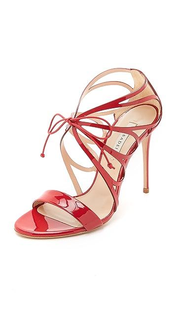 Casadei Cut Out Sandals