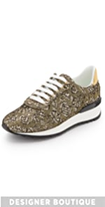 Lace Sneakers                Casadei