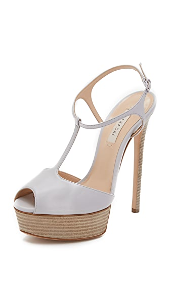 Casadei T Strap Heels