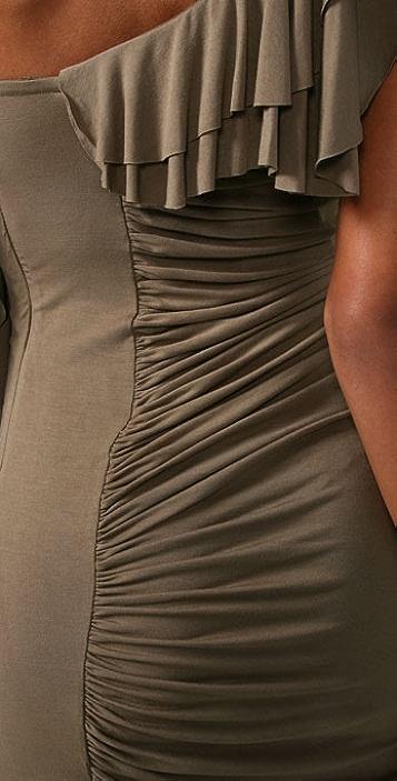 Catherine Malandrino Off the Shoulder Dress