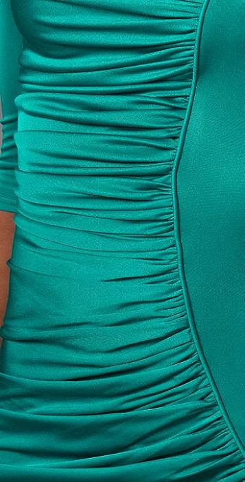 Catherine Malandrino Asymmetrical Ruching Dress