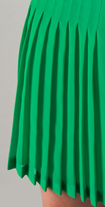 Catherine Malandrino Pleated Skirt