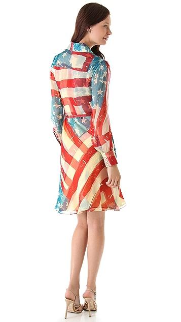 Catherine Malandrino Flag Dress