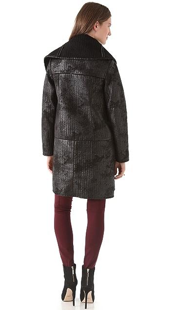 Catherine Malandrino Drape Coat