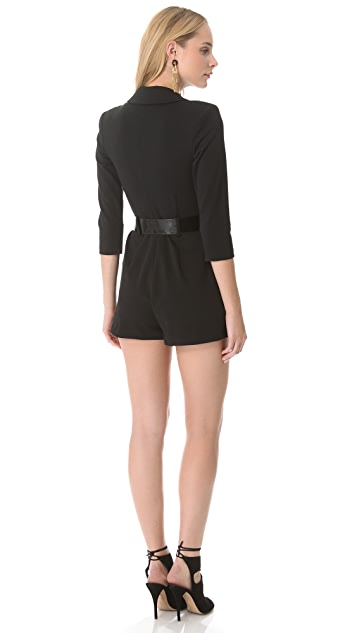 Catherine Malandrino Long Sleeve Romper