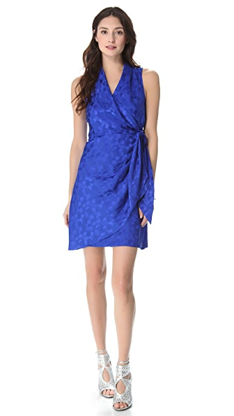 Catherine Malandrino Wrap Mini Dress
