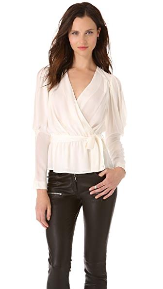 Catherine Malandrino Courtney Blouson Top