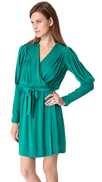 Catherine Malandrino Destiny Wrap Dress