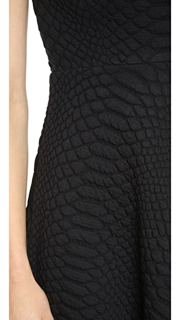 Catherine Malandrino Aimee Quilted Dress