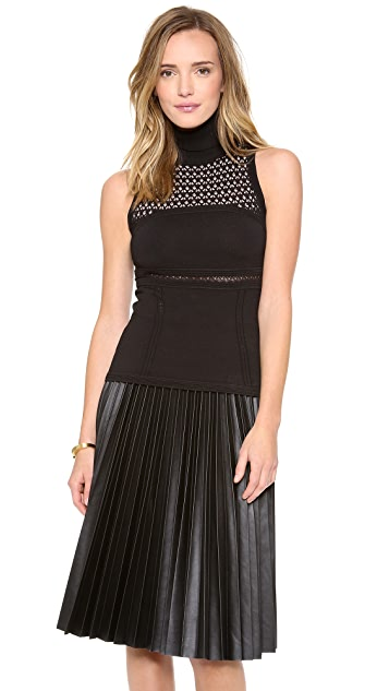 Catherine Malandrino Betsey Sleeveless Turtleneck
