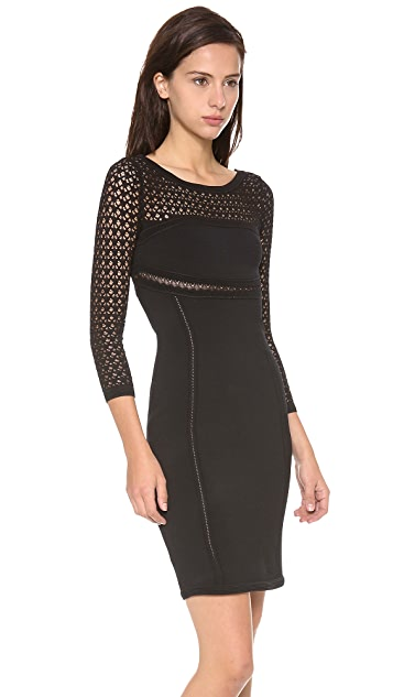Catherine Malandrino Brooklyn Cutout Back Dress