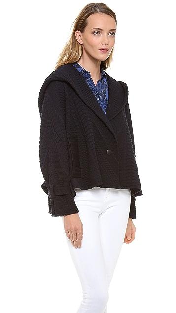 Catherine Malandrino Calista Hooded Coat