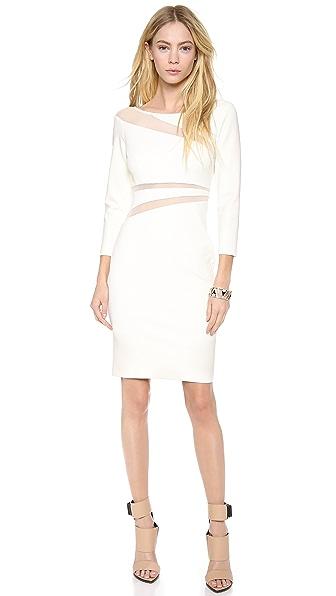 Catherine Malandrino Harper Dress with Cutout Mesh