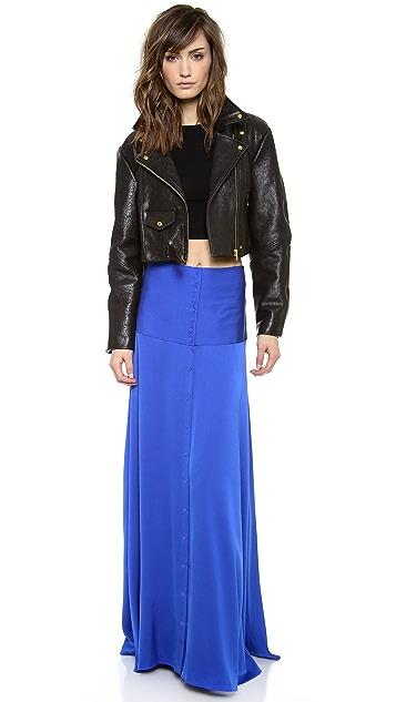 Catherine Malandrino Carmel Maxi Skirt