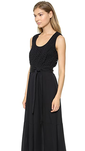 Catherine Malandrino Giada Scoop Neck Dress