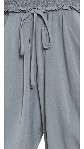 Catherine Malandrino Finesse Strapless Jumpsuit