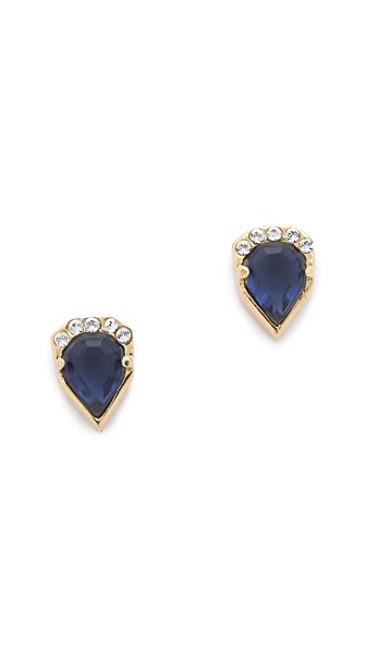 Carolyn Colby Crystal Stud Earrings