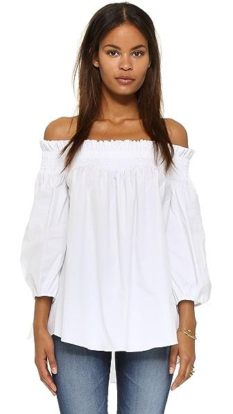 Caroline Constas Lou Off the Shoulder Blouse at Shopbop