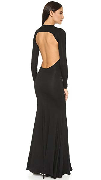 Caroline Constas Victoire Backless Dress