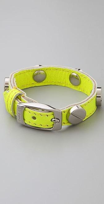CC SKYE Neon Bracelet with Silver Screws