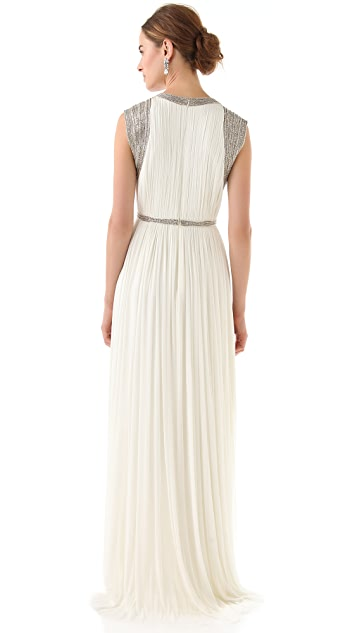 Catherine Deane Mercia Embellished Long Gown