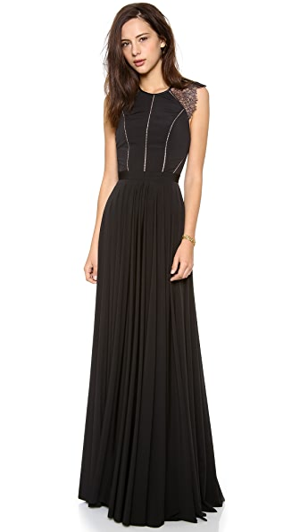 Catherine Deane Simone Lace Back Gown