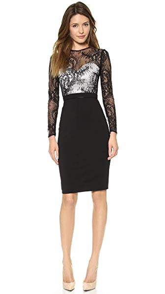 Catherine Deane Vinia Long Sleeve Lace Dress