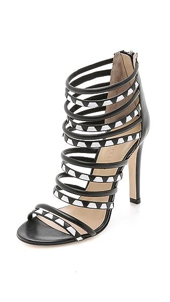 Charline De Luca Galatea Zigzag Sandals
