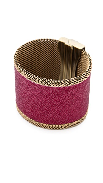 Cynthia Desser Stingray Reversible Wide Cuff