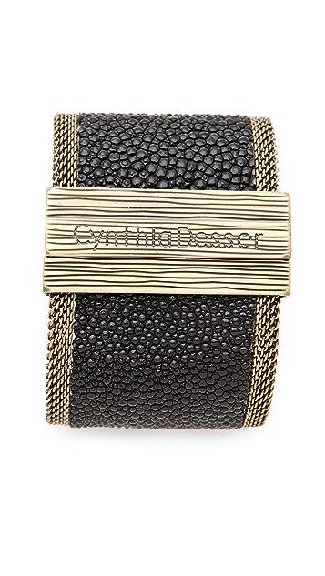 Cynthia Desser Stingray Reversible Wide Cuff