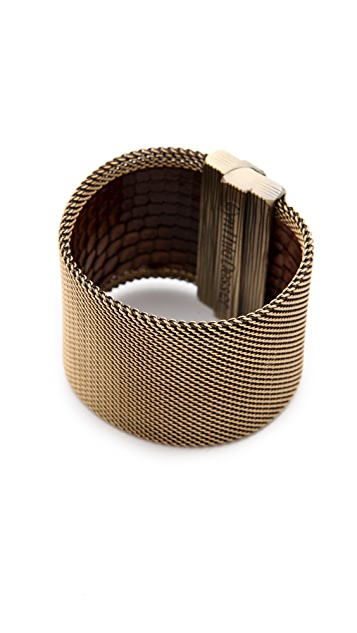 Cynthia Desser Ombre Snakeskin Reversible Cuff