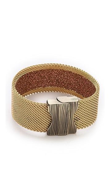 Cynthia Desser Narrow Stingray Reversible Cuff