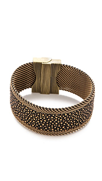 Cynthia Desser Narrow Stingray Reversible Cuff