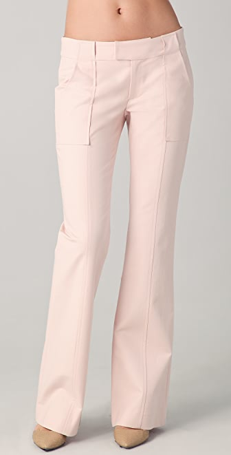 Derek Lam 10 Crosby Boot Leg Pants