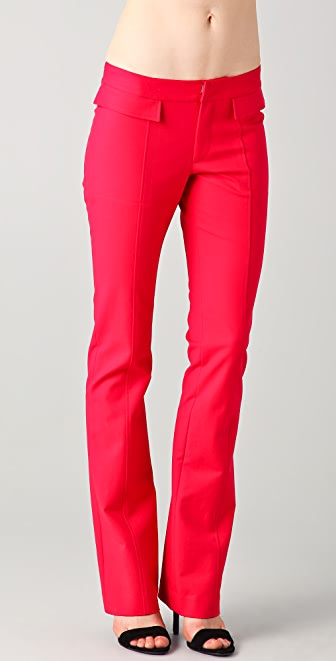 Derek Lam 10 Crosby Straight Leg Pants