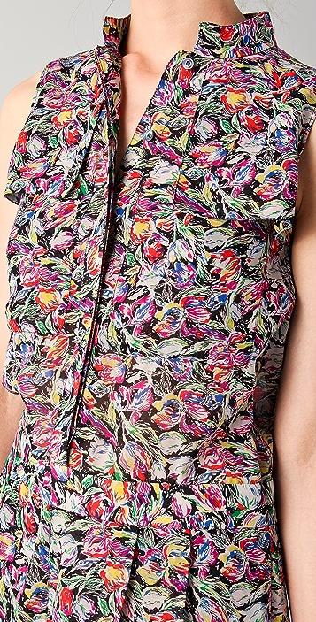 Derek Lam 10 Crosby Floral Romper