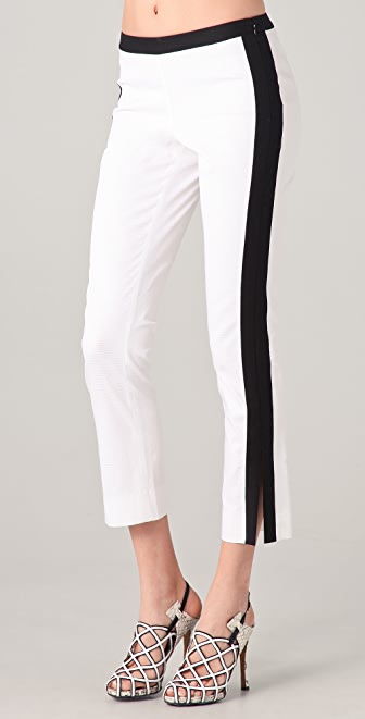 Derek Lam 10 Crosby Cropped Combo Pants