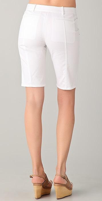 Derek Lam 10 Crosby Skinny Walking Shorts