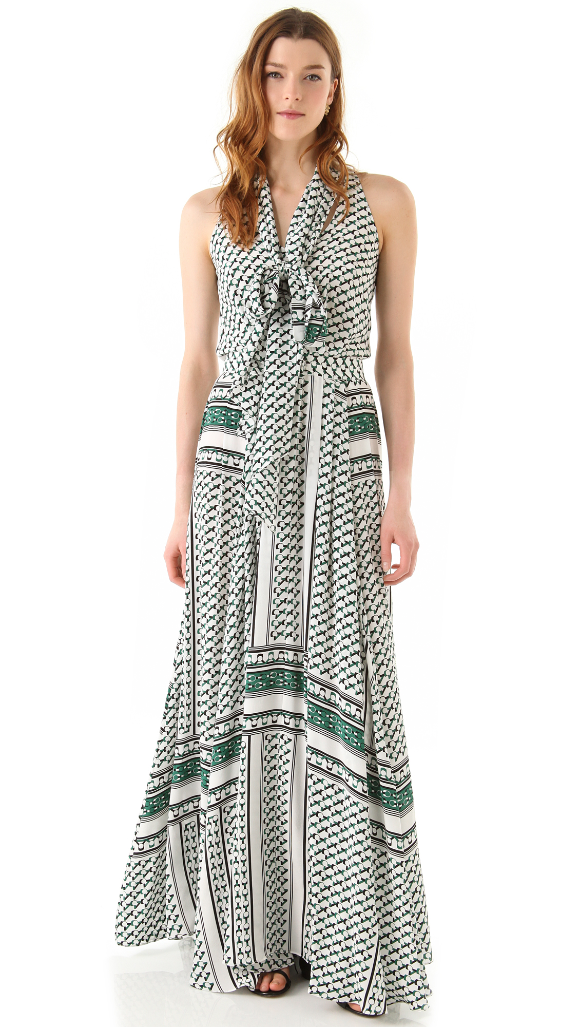 Derek lam maxi dress