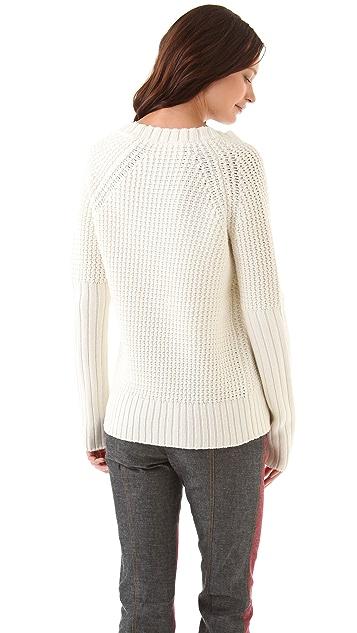 Derek Lam 10 Crosby U Neck Sweater